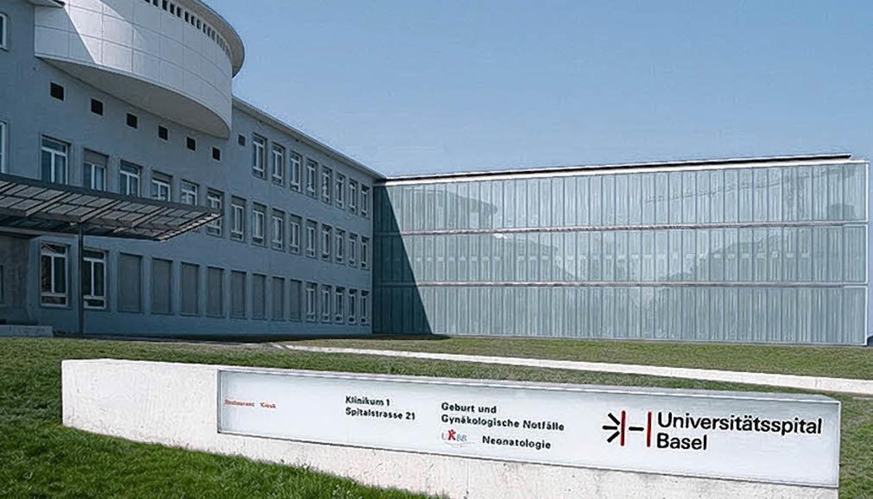 Am Basler Unispital arbeiten fast 900 ...tel von ihnen kommen aus Deutschland.   | Foto: USB
