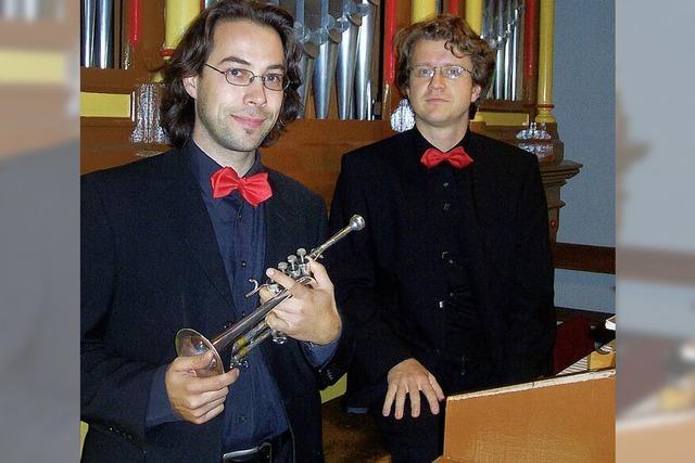 Ein Duo in perfekter Harmonie