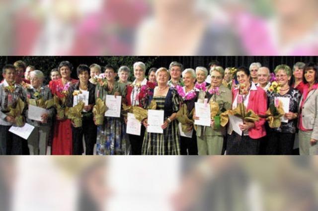 Landfrauen feierten ausgelassen ihr Jubiläum