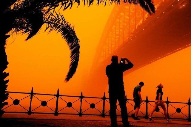 Jahrhundertsturm: Sydney versinkt im Sand