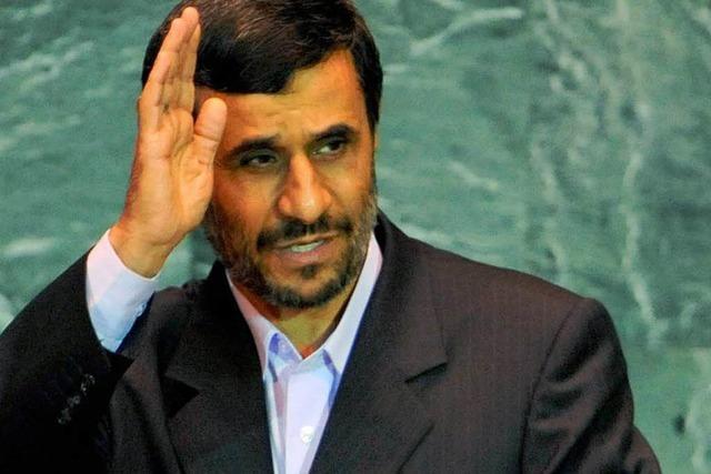Ahmadinedschad löst Eklat aus