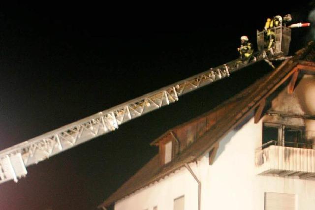 Bleibach: Keine Verletzten bei Brand in Mehrfamilienhaus