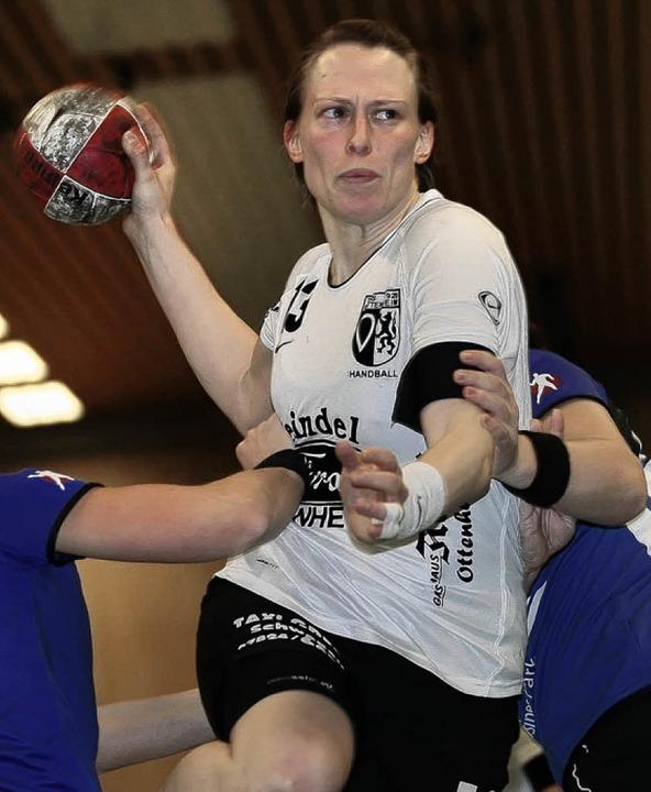 Sarah Huser fehlt dem TuS Ottenheim im Derby.   | Foto:  P. Aukthun  (A)