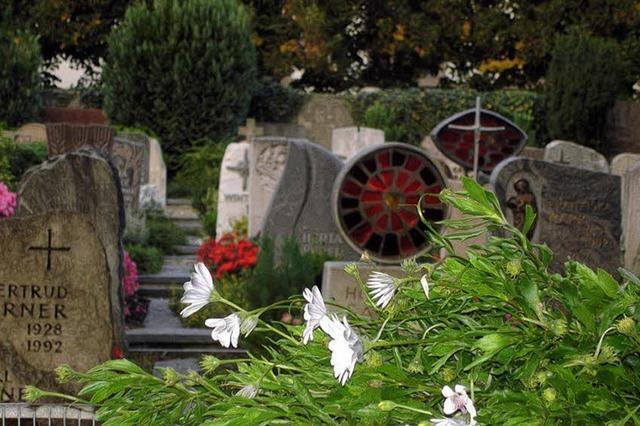 Friedhof ist groß genug