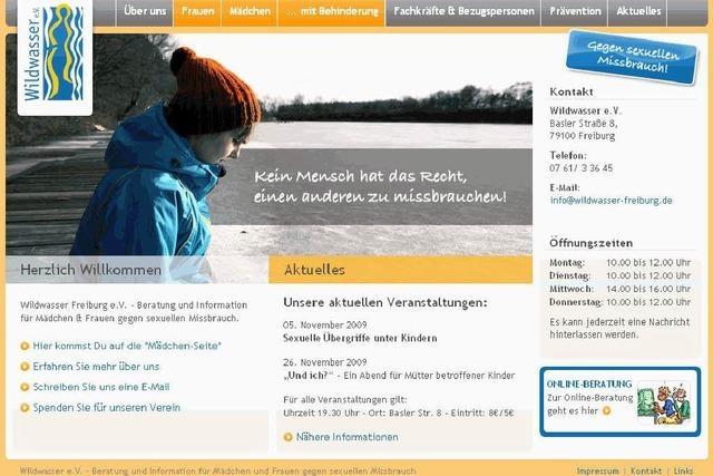 Internet-Chat für Opfer sexueller Gewalt