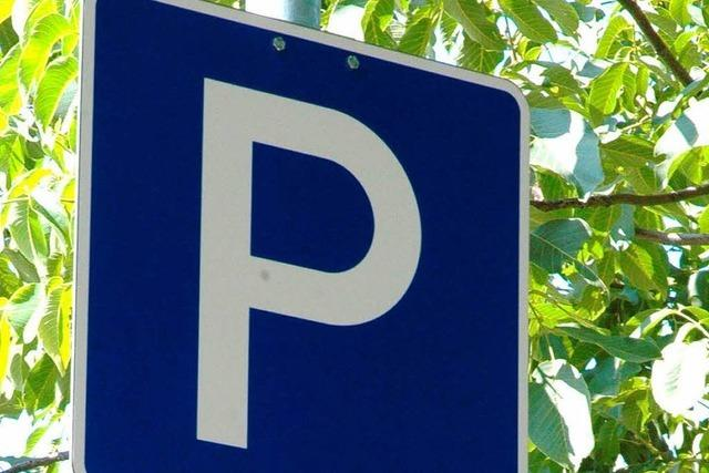 Autosurfer auf dem Parkplatz