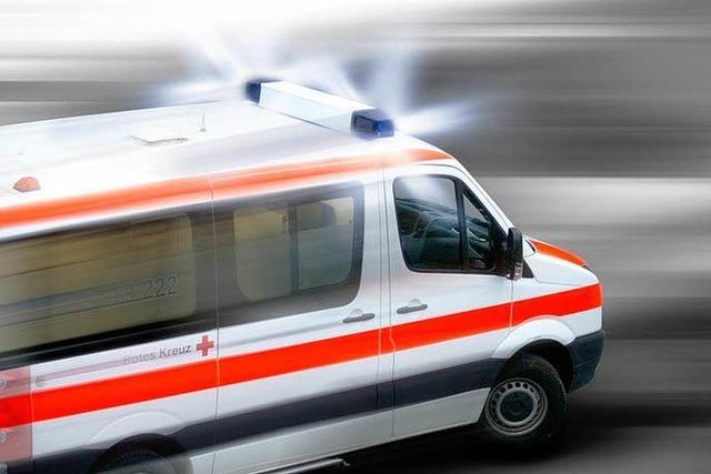 Unfall auf der A 98 – Motorradfahrer schwer verletzt