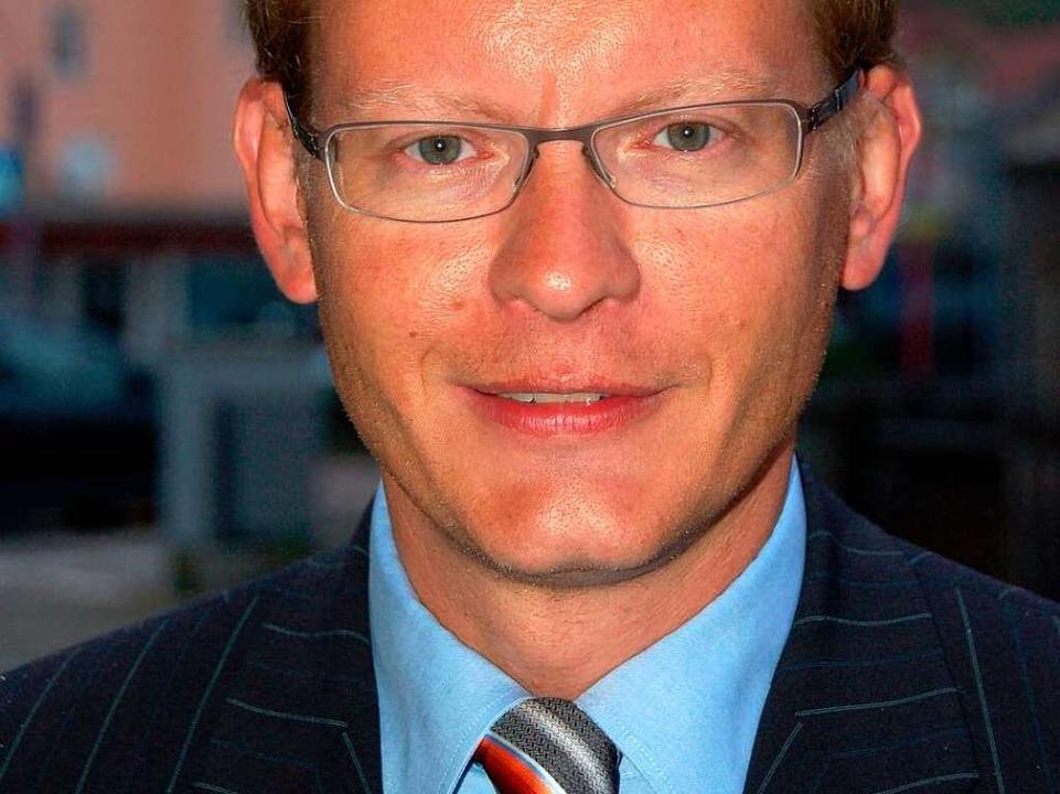 Der neue und alte Vertreter des Waldsh... im Bundestag: Thomas Dörflinger, CDU.  | Foto: Krug