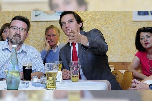Die Lahrer SPD zeigt im Galgenhumor Größe