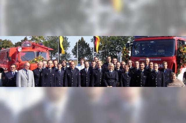 Neues Löschfahrzeug in Eschbach feierlich eingeweiht