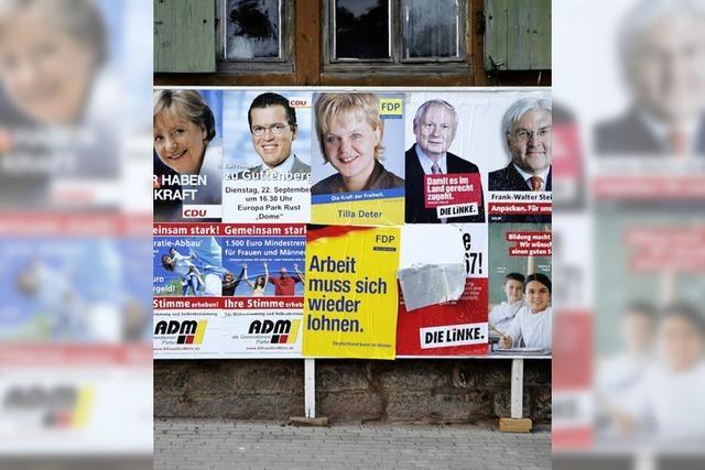 FDP in Wallburg knapp vor der SPD