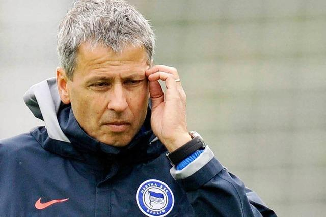 Hertha BSC entlässt Favre