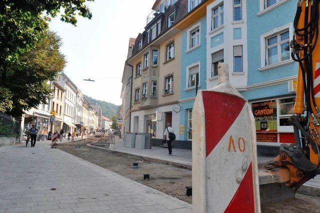Auftakt in der Grabenstraße