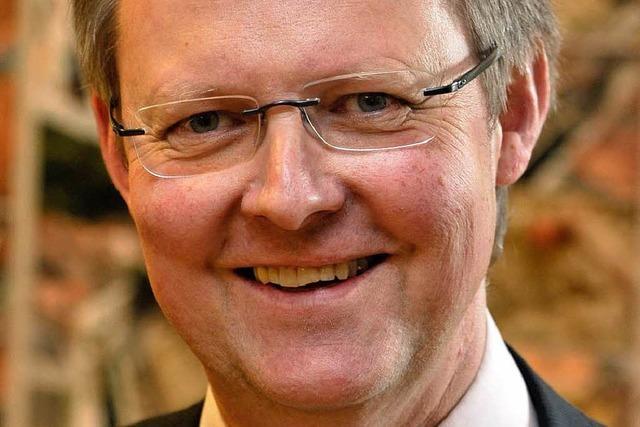 Ulrich von Kirchbach kandidiert für das OB-Amt