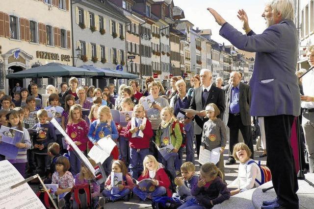 Junge Sänger prägen den Tag der Deutschen Einheit