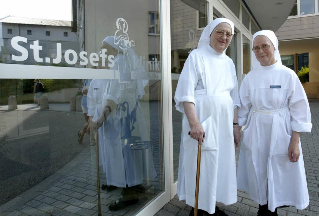 Die Josefsklinik ist im Eigentum der K...kanerinnen vom Göttlichen Herzen Jesu.  | Foto: Chris Heck