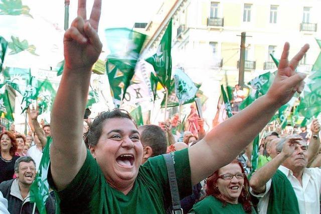 Griechenland entscheidet sich für den Wechsel