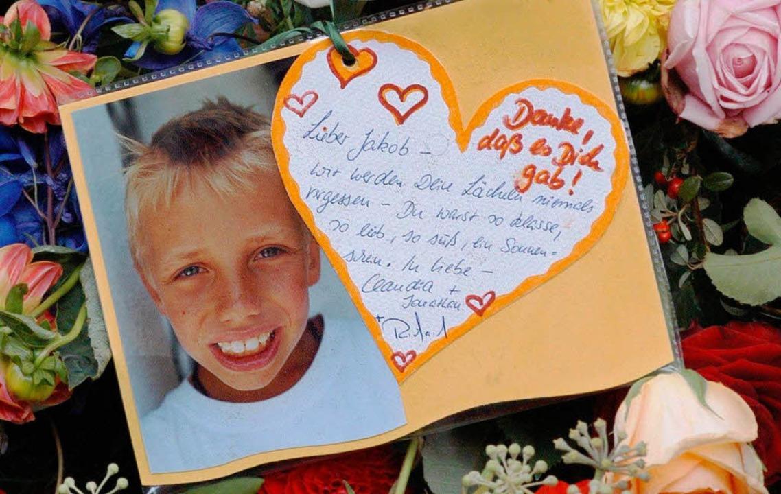 Entführt und ermordet: Jakob von Metzler.    Foto: Frank Rumpenhorst