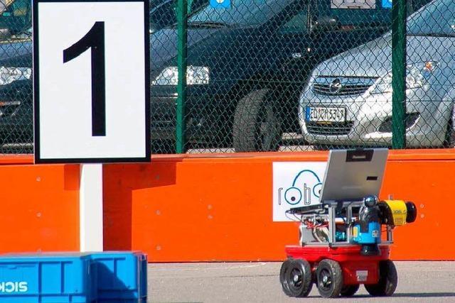Sick-Robot-Day: Autos, die allein ihren Weg suchen