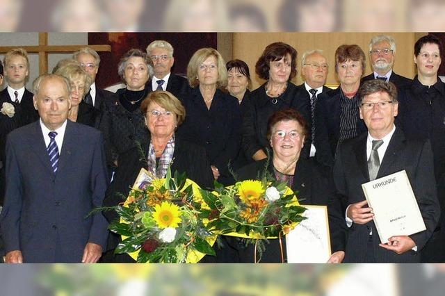50 Jahre Gesang in Altenheim zum Lobe Gottes