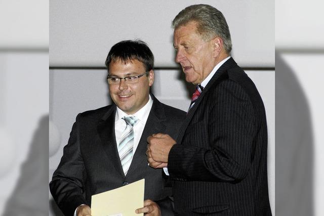 Minister Pfister würdigt wohnortnahe Bildungseinrichtung