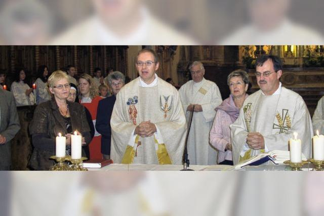 Vier Pfarreien, ein Pfarrer
