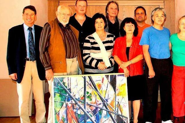 Künstler präsentieren sich bei den Ateliertagen in Ettenheim