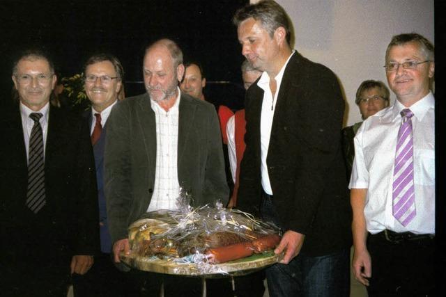 Oberried feierte Bürgermeister