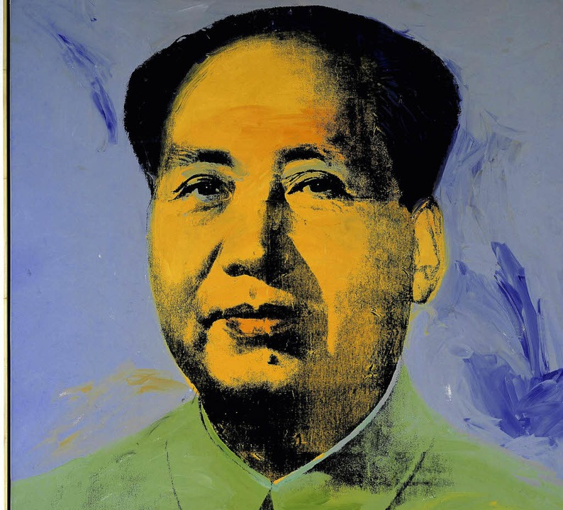 Mao Zedong, wie ihn Andy Warhol 1967 sah   | Foto: DDP
