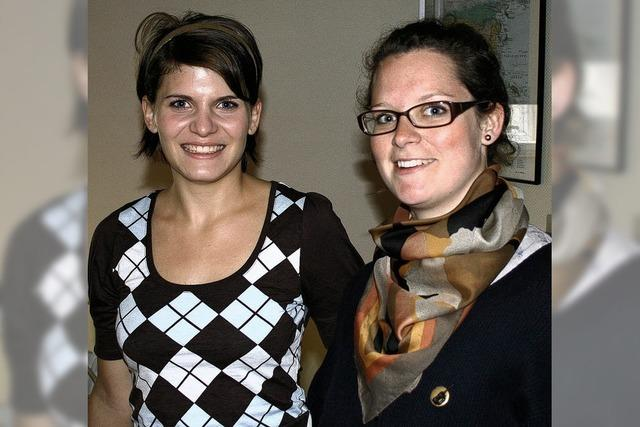 Studienbotschafterinnen besuchten das Kolleg