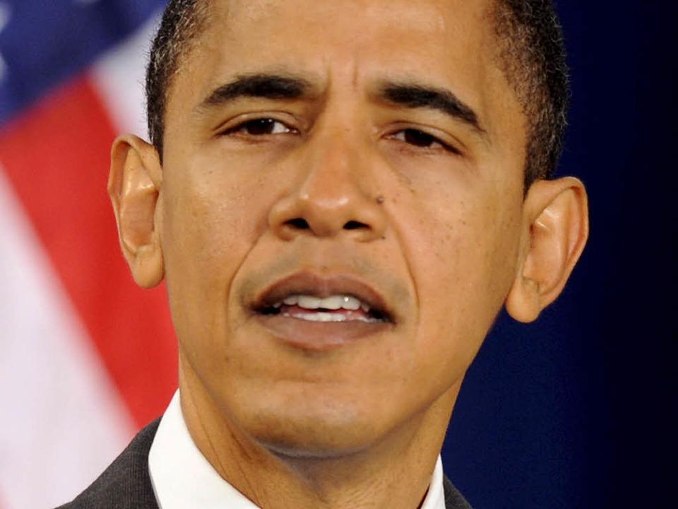 Barack Obama ist Friedensnobelpreisträger 2009.  | Foto: dpa