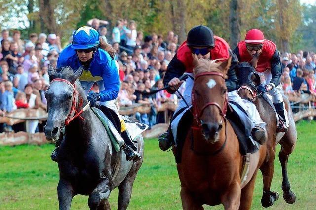 König Bansah kommt zum Pferderennen nach Meißenheim