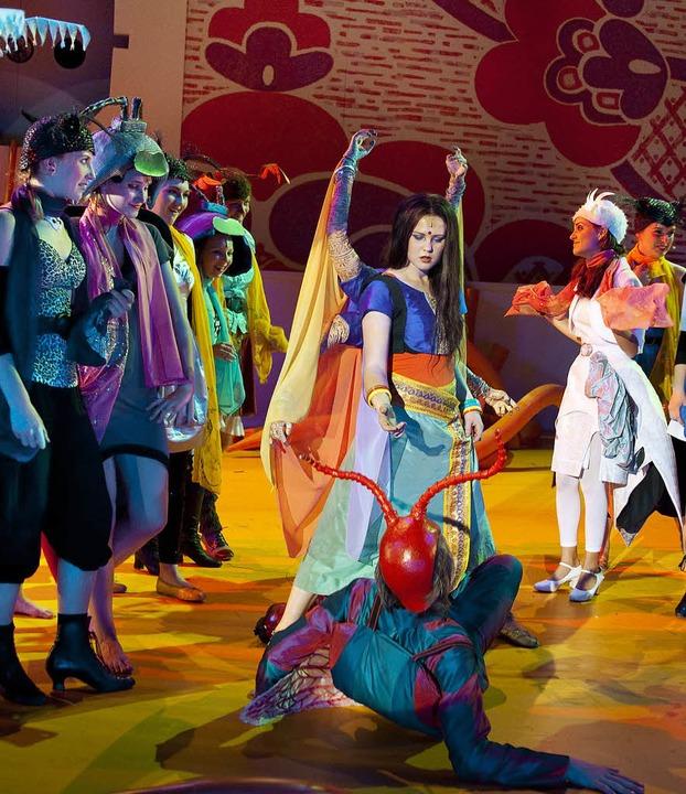 Theater Freiburg: Flokati  | Foto: Kanik