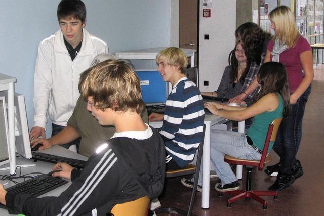 PC-Netzwerk für die Schüler