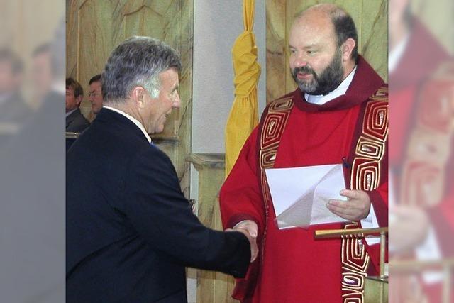 Ehrenmedaille für Ehrenamt