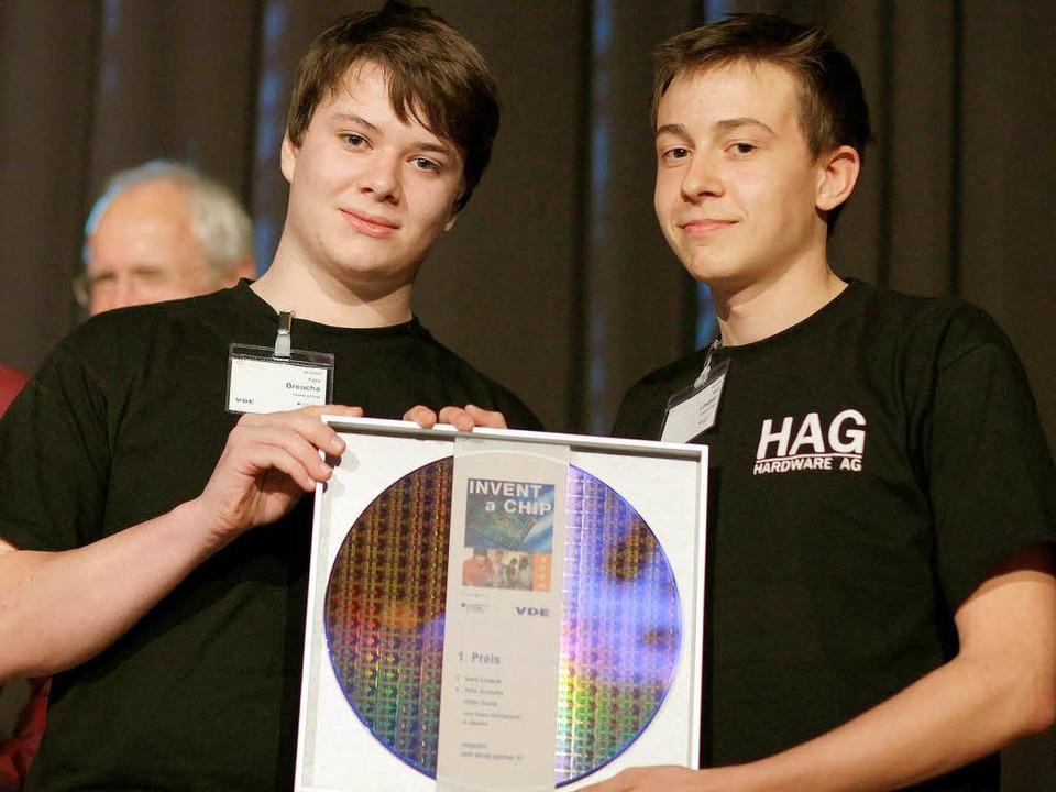 Die beiden Sieger Felix Breucha (links) und Gerd Lindner.    Foto: Veranstalter