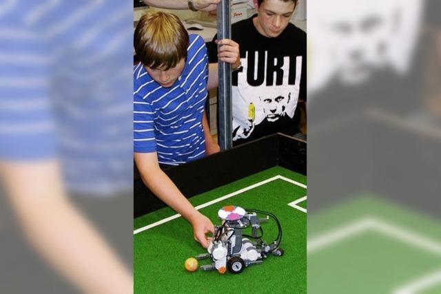 Mit Robotern aus Lego programmieren lernen