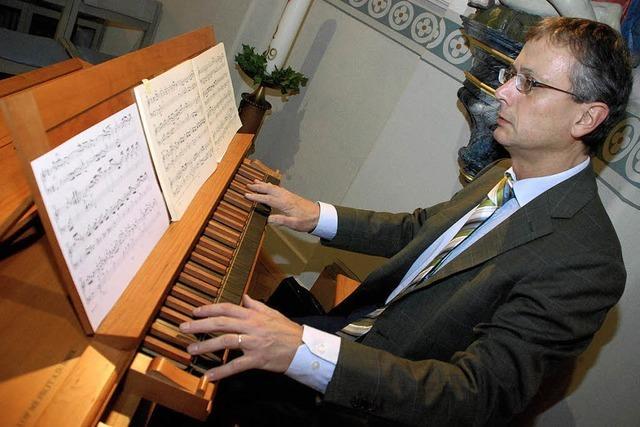 Weiche Orgelklänge für die Klinik-Kapelle