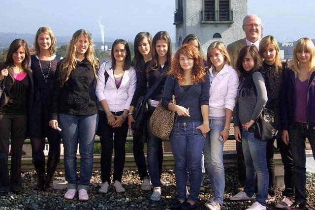 Besuch aus Italien am GBG