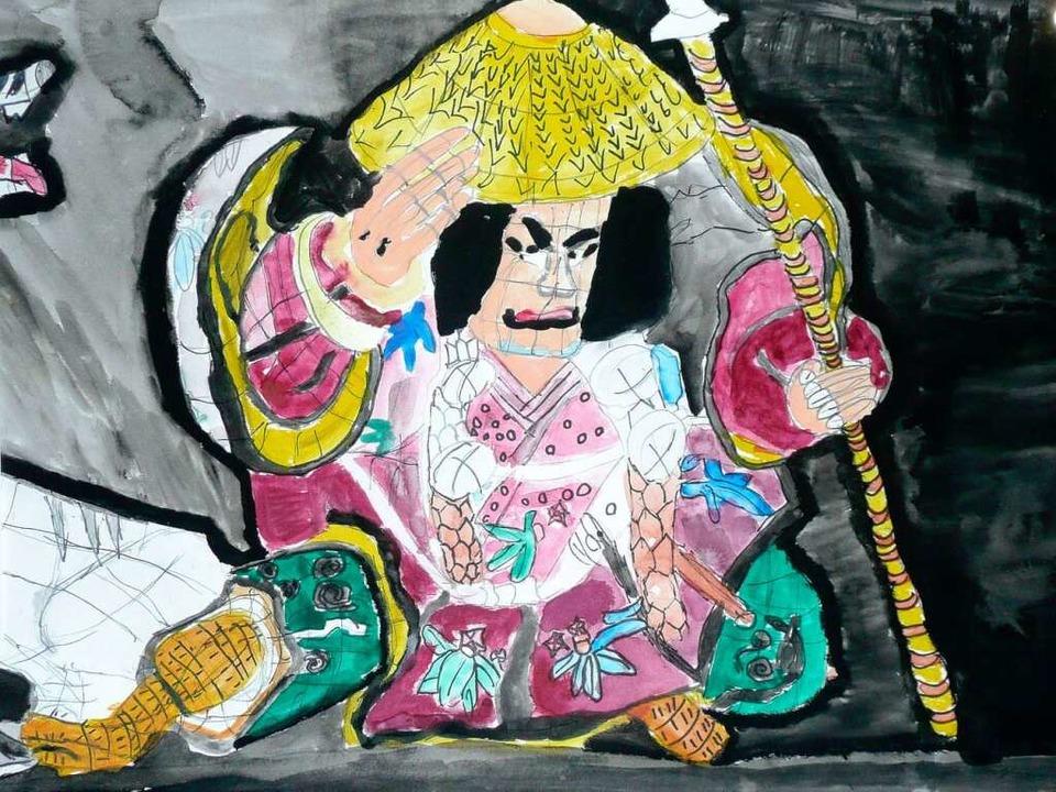 Zu sehen ist auch japanische Tuschemalerei.    Foto: BZ