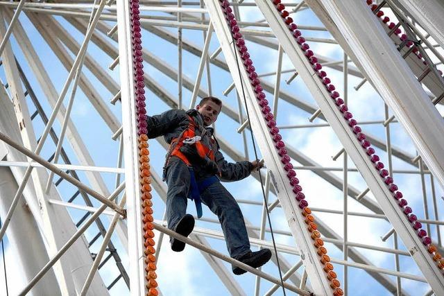 Fotos: Das Chrysanthema-Riesenrad in Lahr