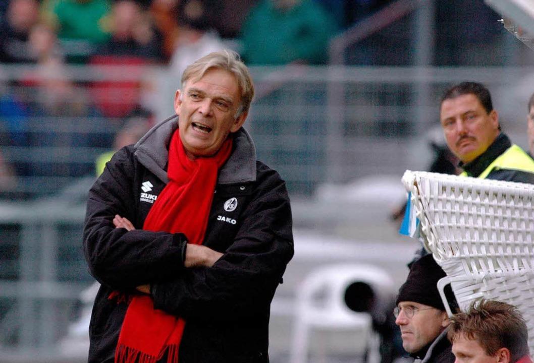 Das bisher letzte Heimspiel des SC geg...m Februar 2005 wurde mit 0:1 verloren.    Foto: Michael Heuberger