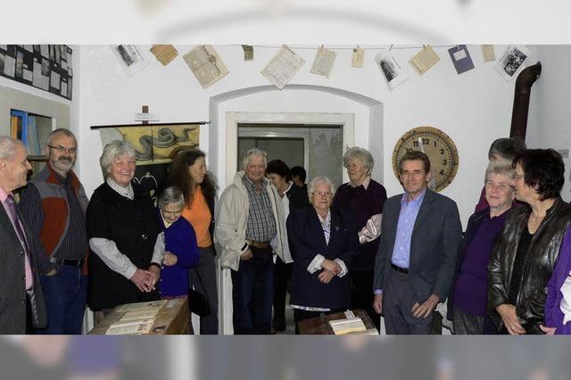 Alter Raum wird zum Schulmuseum