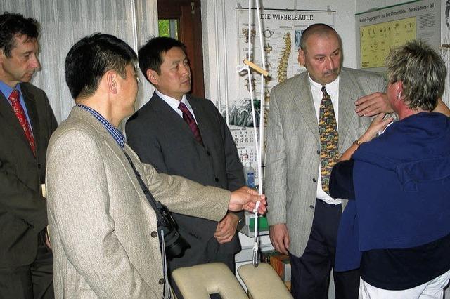 Mongolischer Minister inspiziert Reha-Zentrum
