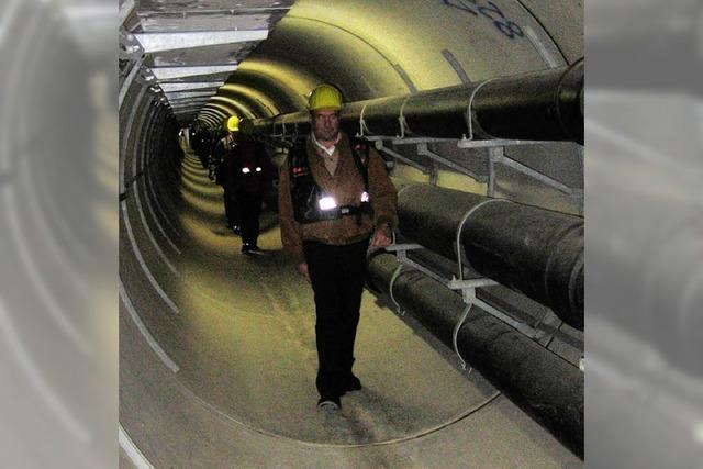 Leitungen für Sickerwasser werden saniert