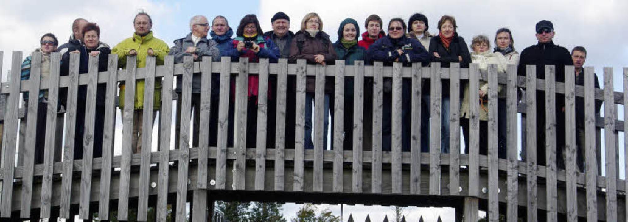 Eine polnische Leader-Delegation war i...ze  (Bild) und das Wald-Glas-Zentrum.     Foto: Patrick Lehnes