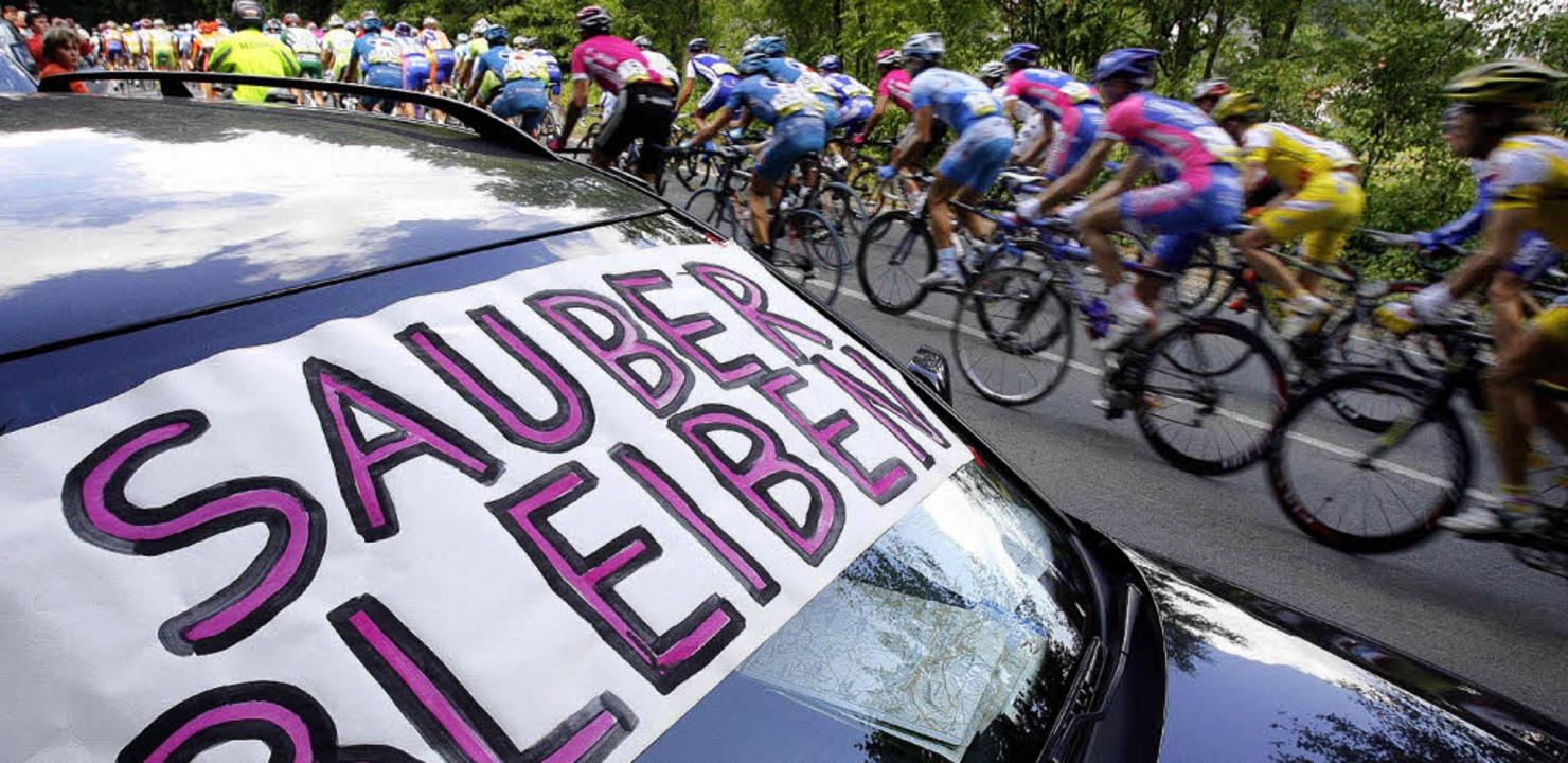 Doping Mit Mohnkuchen Radsport Badische Zeitung
