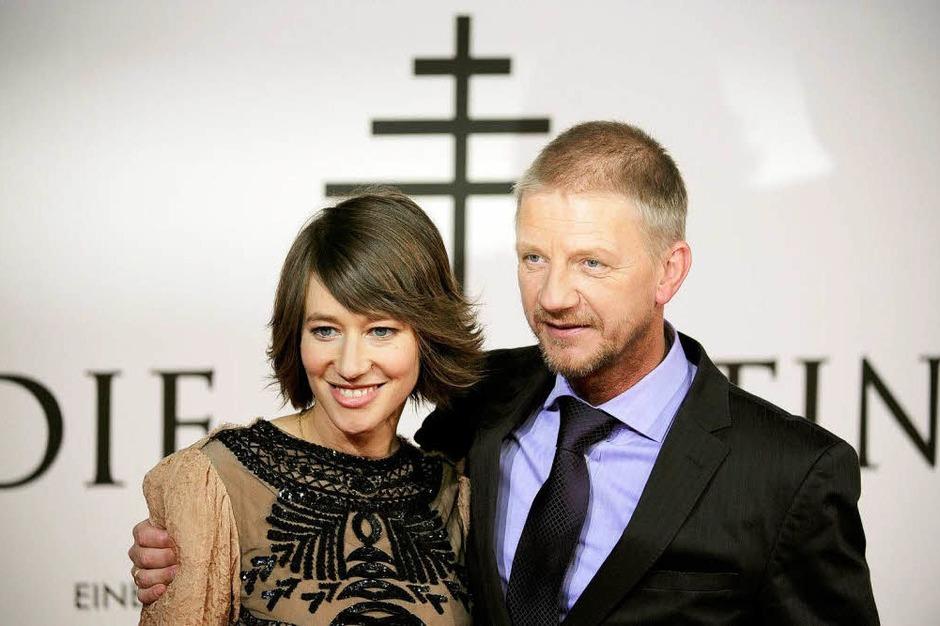 Schauspielerin und Hauptdarstellerin Johanna Wokalek und der Regisseur Sönke Wortmann. (Foto: dpa)