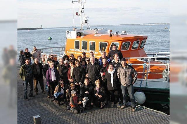 Familiäres Treffen beim Jubiläum in der Bretagne