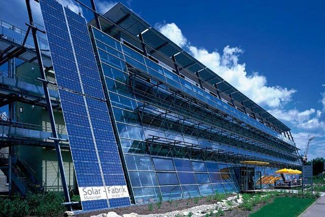 Freiburger Solar-Fabrik bekommt Staatskredit
